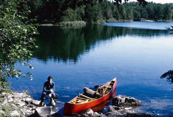 Bwca Wooden Canoe