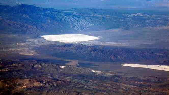 Groom Lake and Papoose Lake
