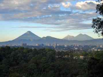 Guatemala City Volcanoes