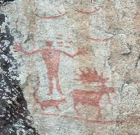 Hegman Lake Pictographs