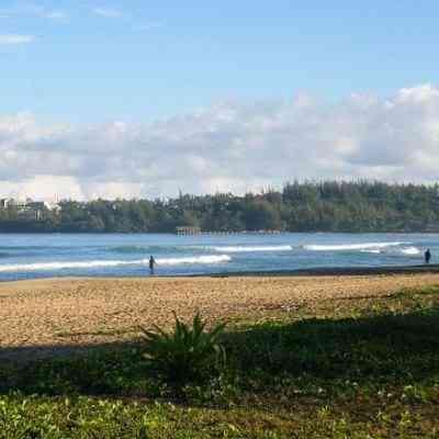 Hanalei Bay Waioli Beach Park