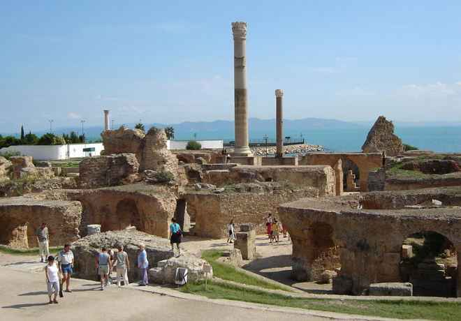 Carthage in Tunis Tunisia