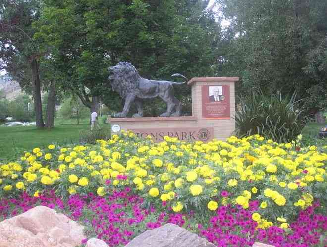 Lions Park Golden Colorado