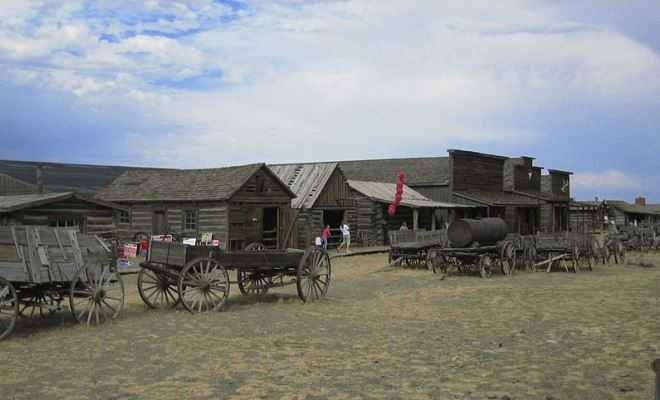 Trail Town of Cody Wyoming