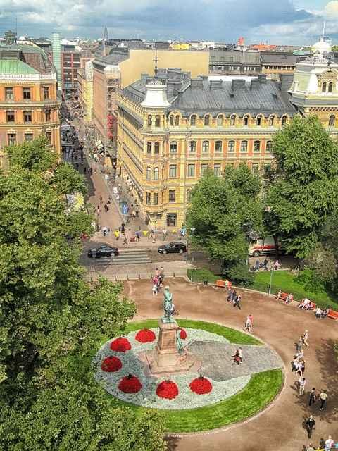 Helsinki Finland Plaza