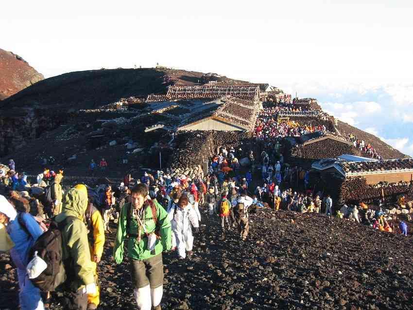 Mt. Fuji Climers The Yoshida Trail